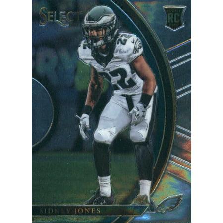 2017 Panini Select #53 Sidney Jones Philadelphia Eagles Rookie Football Card (Philadelphia Bars Halloween 2017)