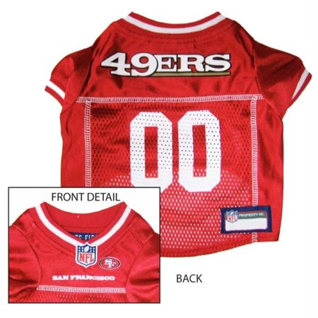 San Francisco 49ers Dog Jersey - Large