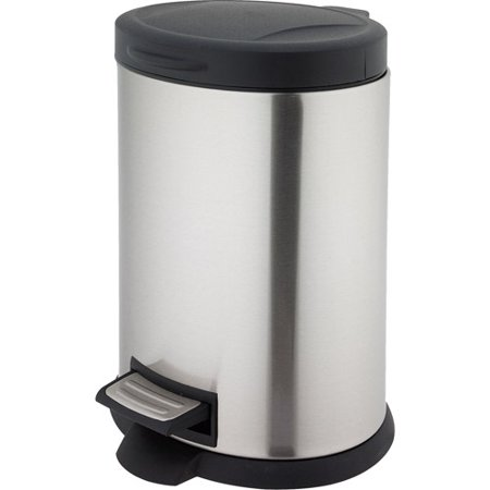 Better Homes And Gardens 5 Liter Oval Step Trash Can