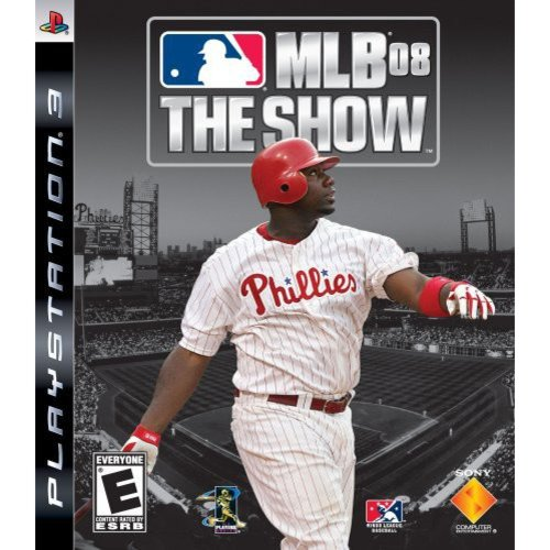 mlb 08 the show - playstation 3