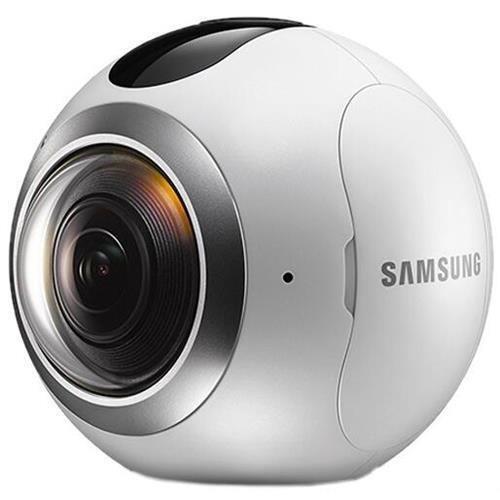 Samsung SM-C200NZWAXAR Gear 360 Digital Camcorder - 0.5in...