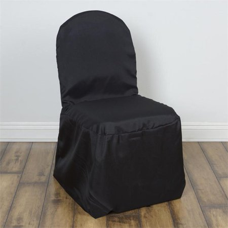BalsaCircle Banquet Polyester Chair Cover Wedding Party Supplies
