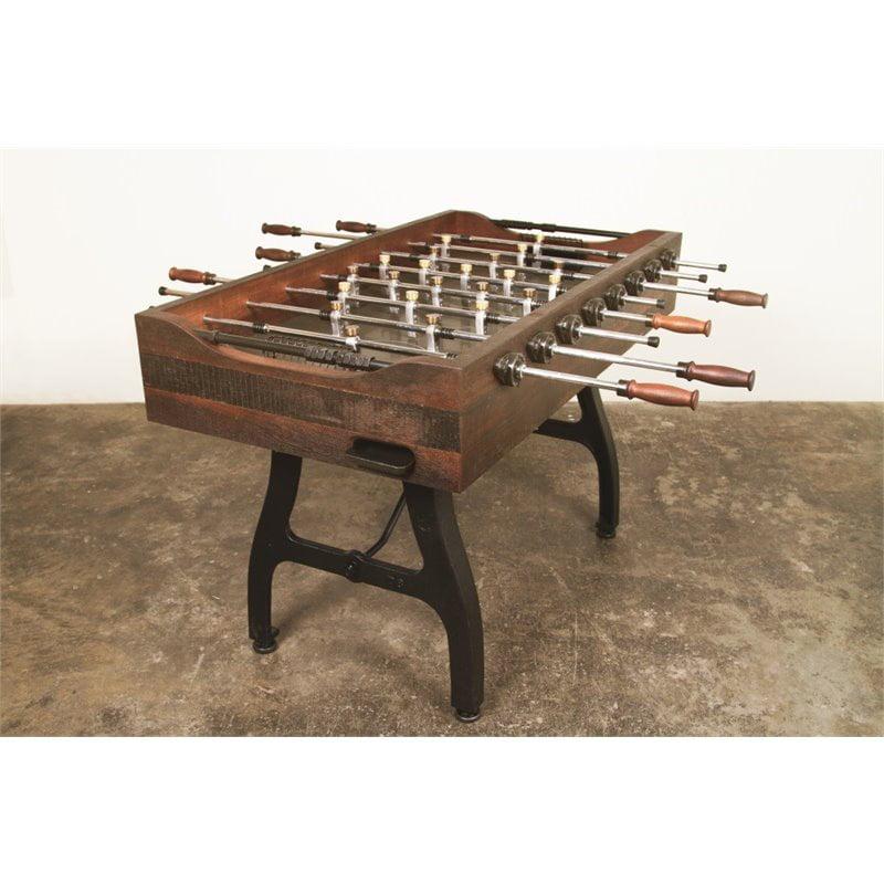 Nuevo Foosball Game Table in Burnt Umber by Nuevo