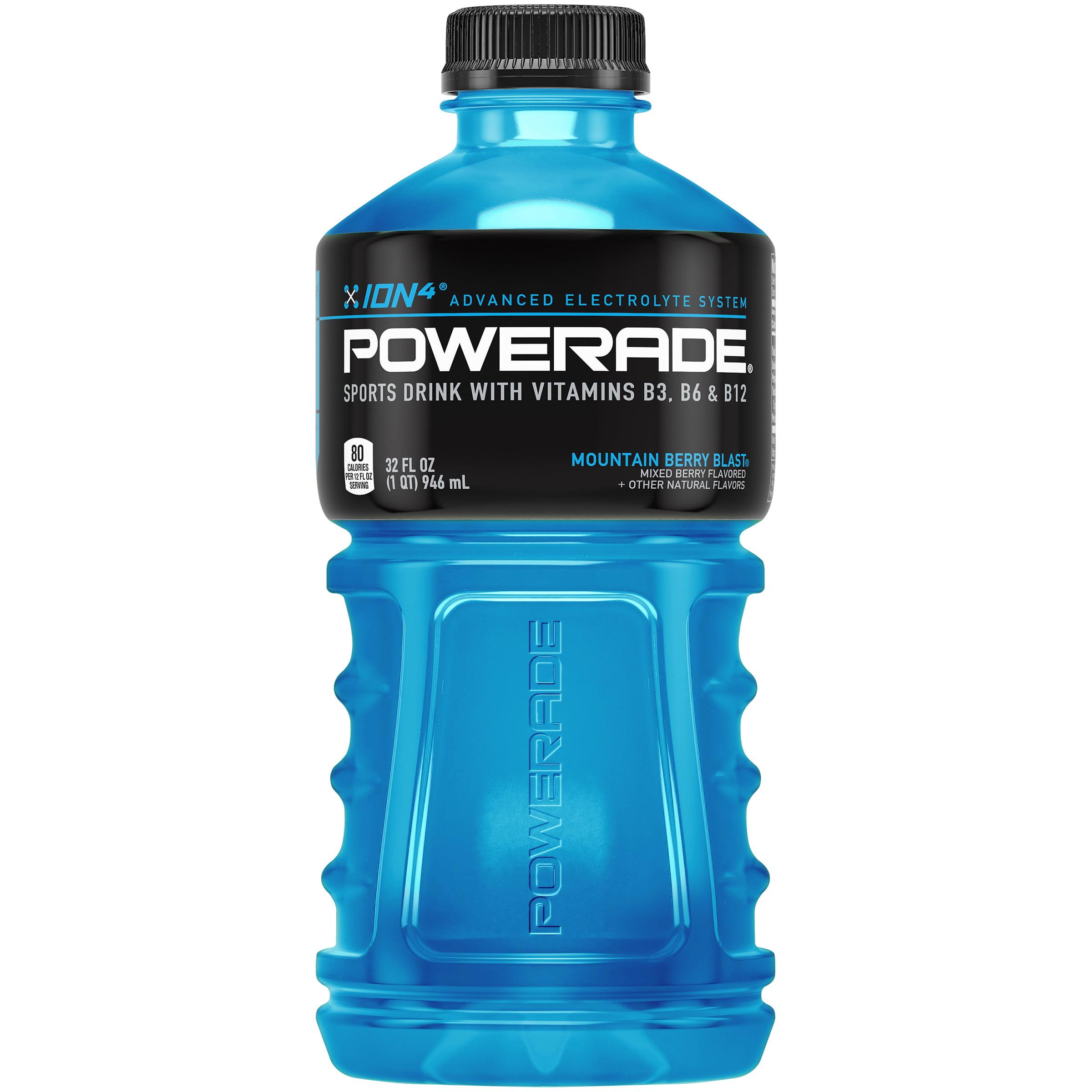 Powerade? Mountain Berry Blast? Sports Drink 32 fl. oz. Plastic Bottle