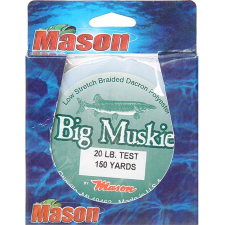 Mason Tackle Big Muskie Fishing Line 150 Yards Walmart Com