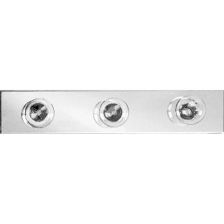 Afina Corporation LC24P 24 inchWide Polished Contemporary Light Bar