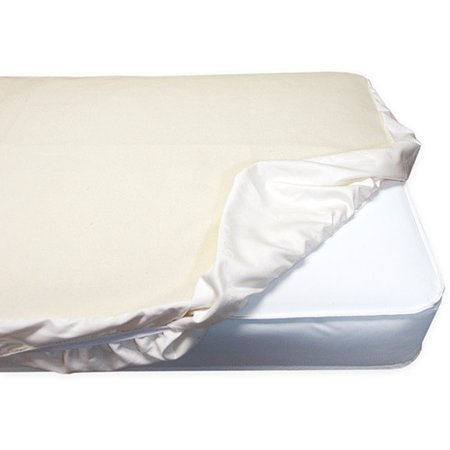 Naturepedic Organic Mattress Protector, Crib Fitted