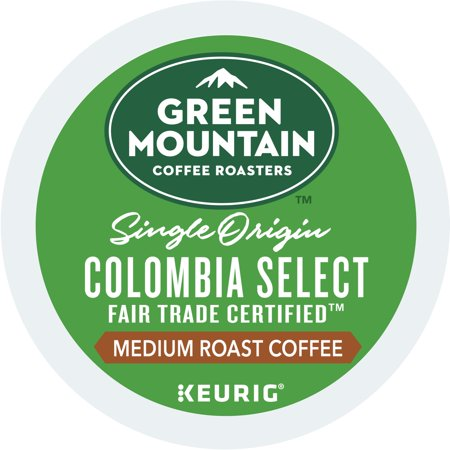 Fair Trade Sweet - (4 Pack) Green Mountain Coffee Colombian Fair Trade Select, Keurig K-Cup Pods, Medium Roast, 18 Count
