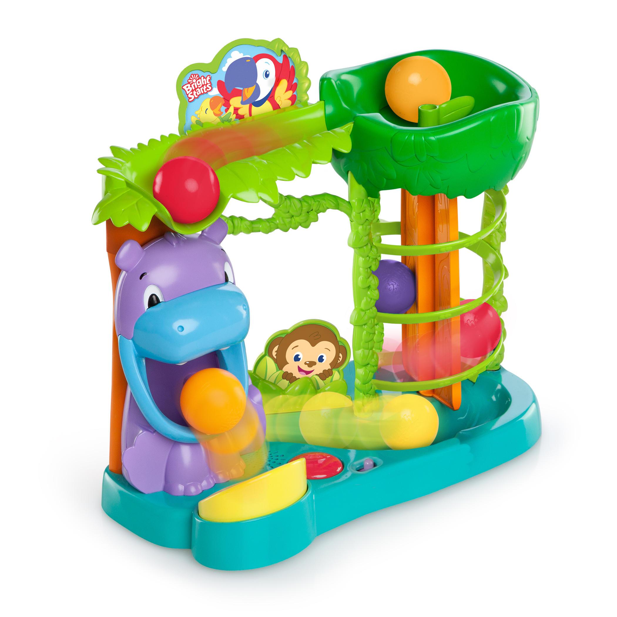 Bright Starts Jungle Fun Ball Climber Toy