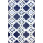 Nuloom  Hand-tufted Modern Marrakesh Trellis Blue Rug (5' x 8')