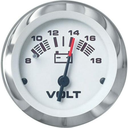 Teleflex Volmeter 8-18v (Teleflex Bulkhead)