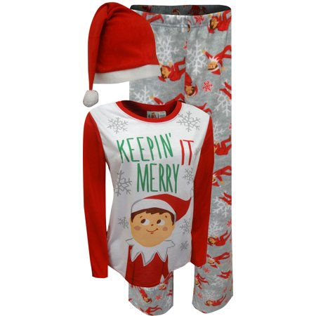 Elf on the Shelf Keepin' It Merry Womens Pajamas - Women Elves