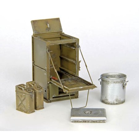Plus Model 1:35 U.S. Field Stove M1937 Resin Diorama Accessory #340