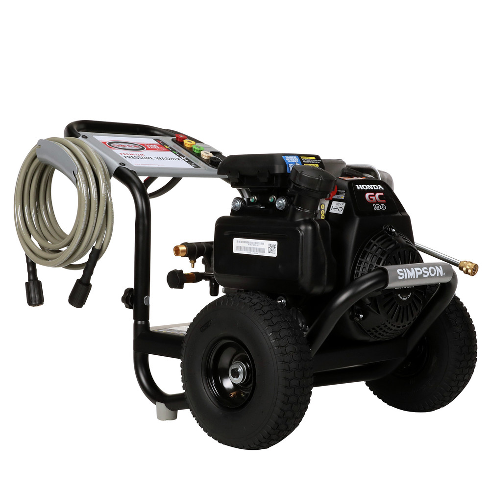 Simpson 60551 3,100 PSI 2 5 GPM Gas Pressure Washer