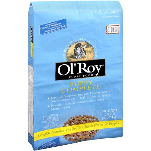 Ol' Roy Puppy Complete Dry Dog Food, 20 Lb