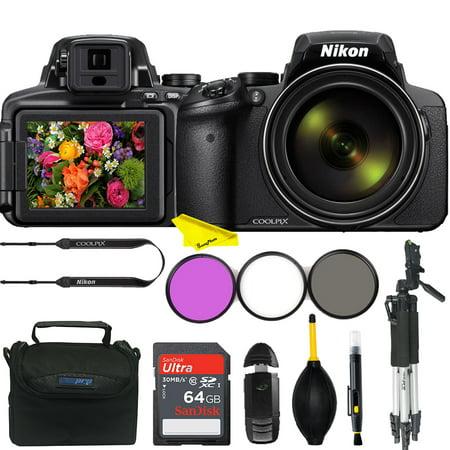 Nikon COOLPIX P900 16 MP  Digital Camera+16 MP CMOS Sensor with Advanced Buzz-Photo Accessories