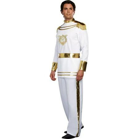 Morris Costume RL9474LG Fairytale Prince Mens Costume, - Fairytale Couples Halloween Costumes