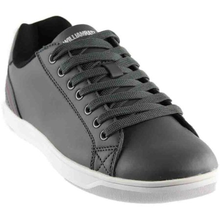 William Rast Mens Justified 2  Casual Sneakers Shoes - Leather Adult Casual Shoes
