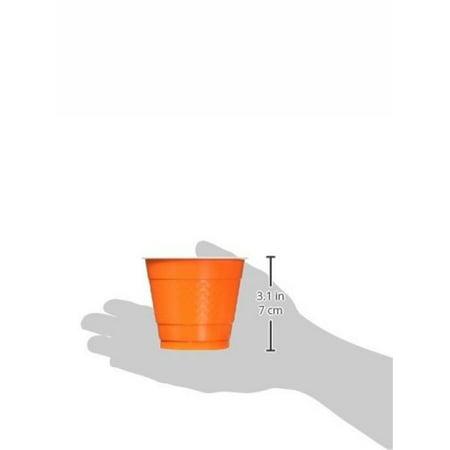 Orange Peel 9oz Plastic Cups 20ct Orange Peel Jumbo Cup