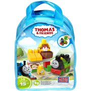 Mega Bloks Thomas & Friends Sights of Sodor Percy At The Farm Train Bag