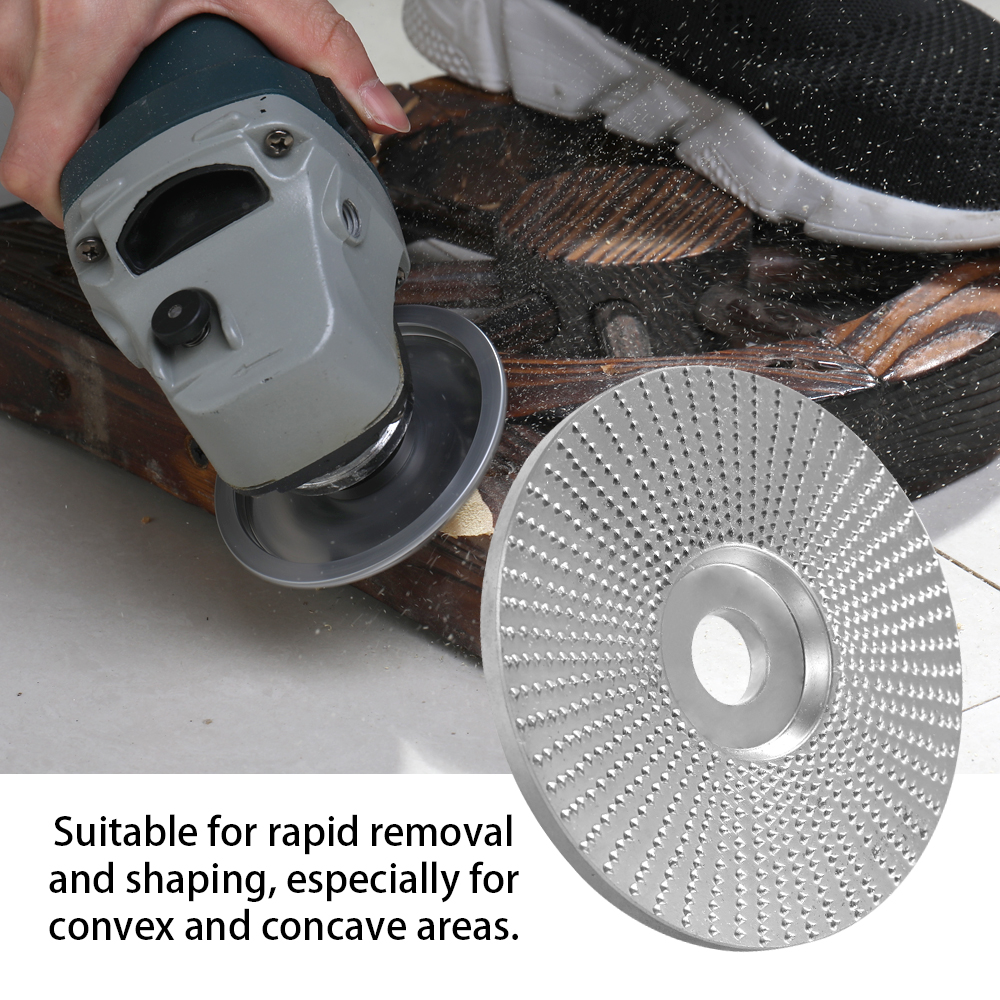 98mm Angle Grinding Wheel Wood Carving Rotary Hand Tool Abrasive Disc 0.7/'/' Hole