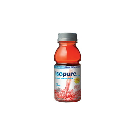 Isopure Plus 0 Carb Protein Drink, Alpine Punch, 24 - 8 Fluid Ounce (Best Time To Drink Whey Protein For Weight Loss)