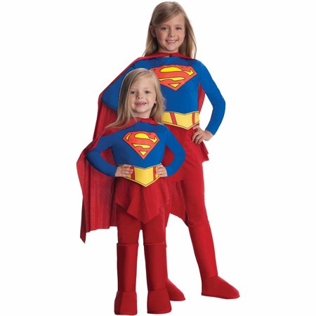 Supergirl Child Halloween Costume](Ripped Shirt Halloween Costume)