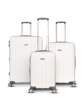 Viva Collection 3 Piece Hardside Spinner Luggage Set