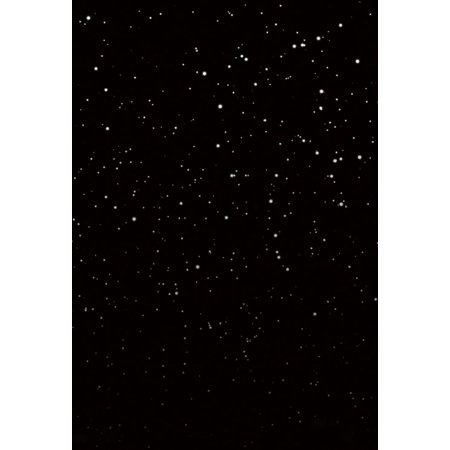 HelloDecor Polyster Glitter Stars Night Sky Background for Photo Studio Digital Photography Booth Backdrop