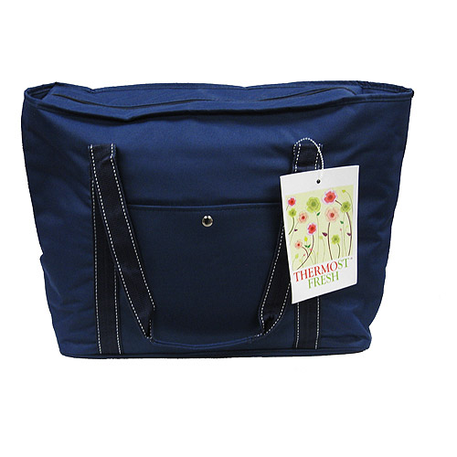 Quest Eco-Friendly Insulated Grocery Bag, Navy