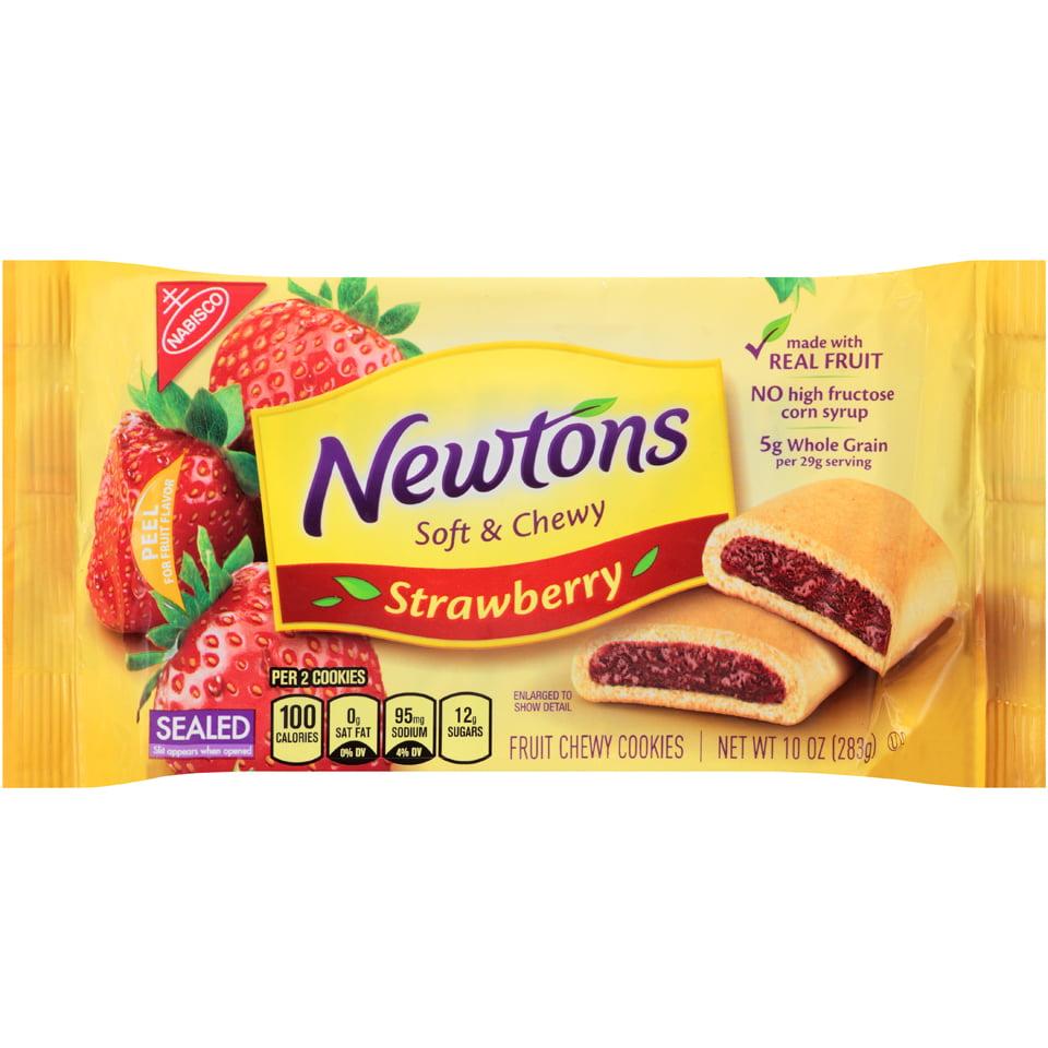 Nabisco Newtons Soft & Chewy Strawberry Fruit Chewy Cookies, 10.0 OZ ...