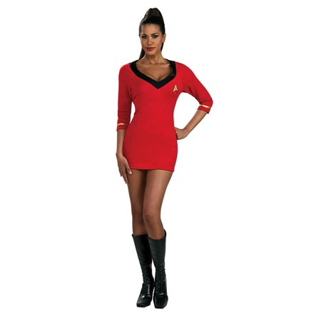 Star Trek Secret Wishes Classic Uhura Costume, Darkness TV Action Art Asylum Size Wishes Exclusive Doll Uhura Womens Rubies Lieutenant Kirk Star 2003 50th Deluxe.., By Rubies
