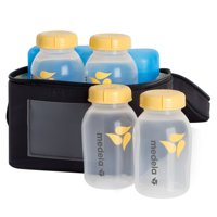 Medela Baby Bottle Cooler Bag, 6-Piece Set