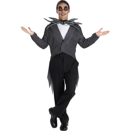 Morris Costumes Jack Skellington Teen - Female Jack Skellington