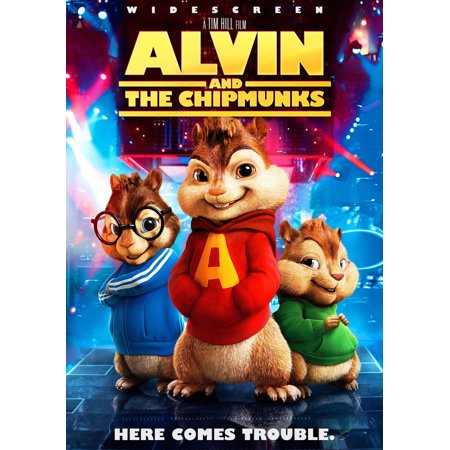 Alvin And The Chipmunks Cartoon Halloween (Alvin and the Chipmunks (2007) 27x40 Movie)