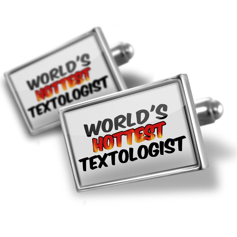 Cufflinks Worlds hottest Textologist - NEONBLOND