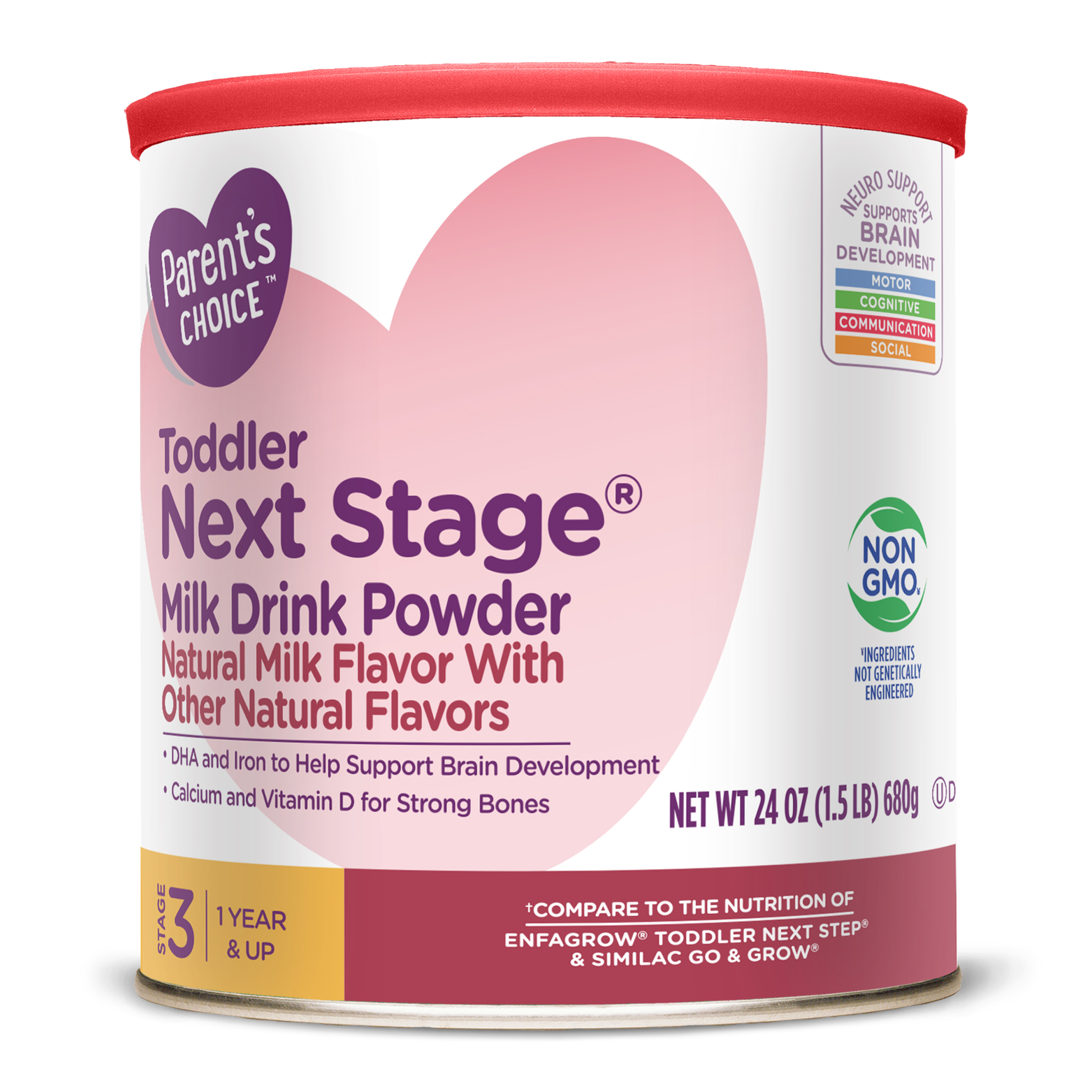Parent's Choice Next Stage Toddler Drink, Powder, 24 oz.