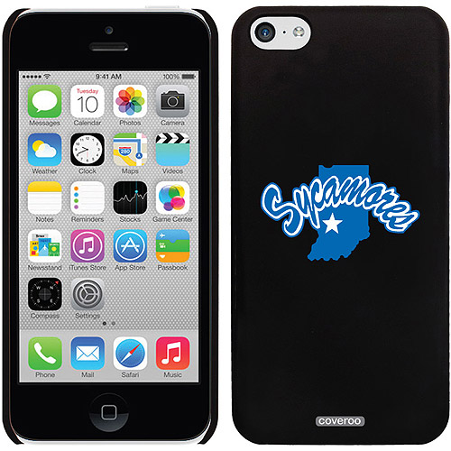 Indiana State Sycamore Design on iPhone 5c Thinshield Snap-On Case by Coveroo