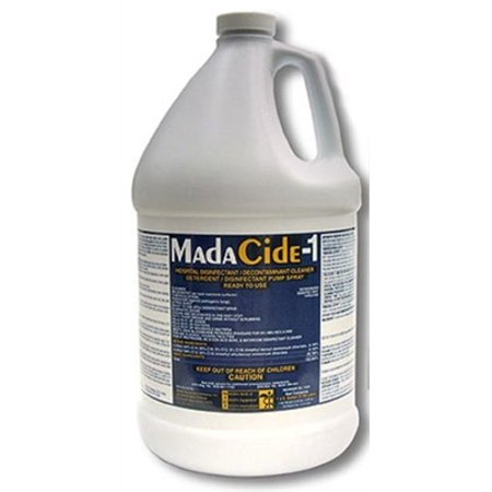 MadaCide-1 Disinfectant Cleaner, Liquid, 1 Gallon, Mada Medical 7009 MadaCide1 - (T & B Sales Advanage Wonder Cleaner)