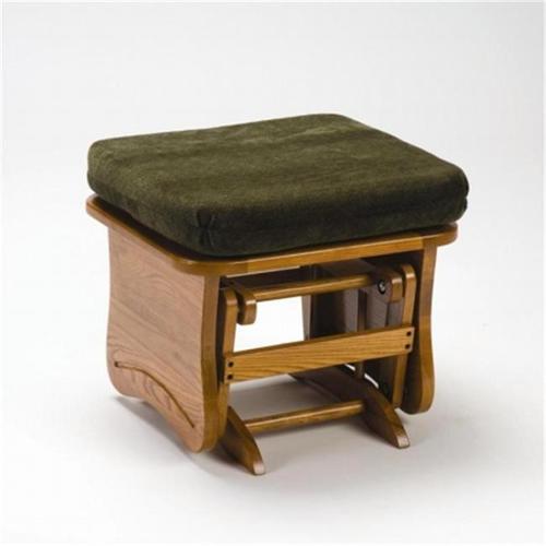 Brooks Furniture 1704DenzelPine Light Oak Gliding Ottoman
