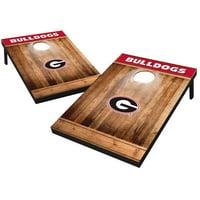 Tailgate Toss Wood Brown College Georgia Bulldogs