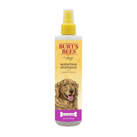 Burt's Bees for Dogs Natural Waterless Shampoo Spray with Apple and Honey   Puppy and Dog Spray, 10
