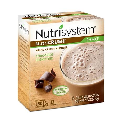 Hot Cocoa Bar (Nutrisystem NutriCrush Chocolate Shake Mix, 1.4 Oz, 5)
