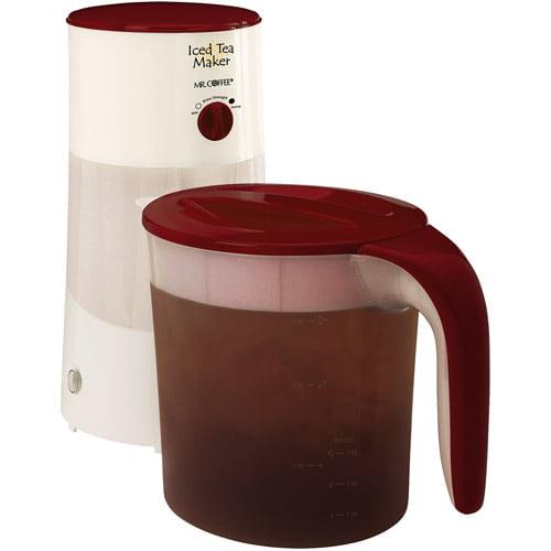 Mr. Coffee 3 Quart Watermelon Iced Tea Maker