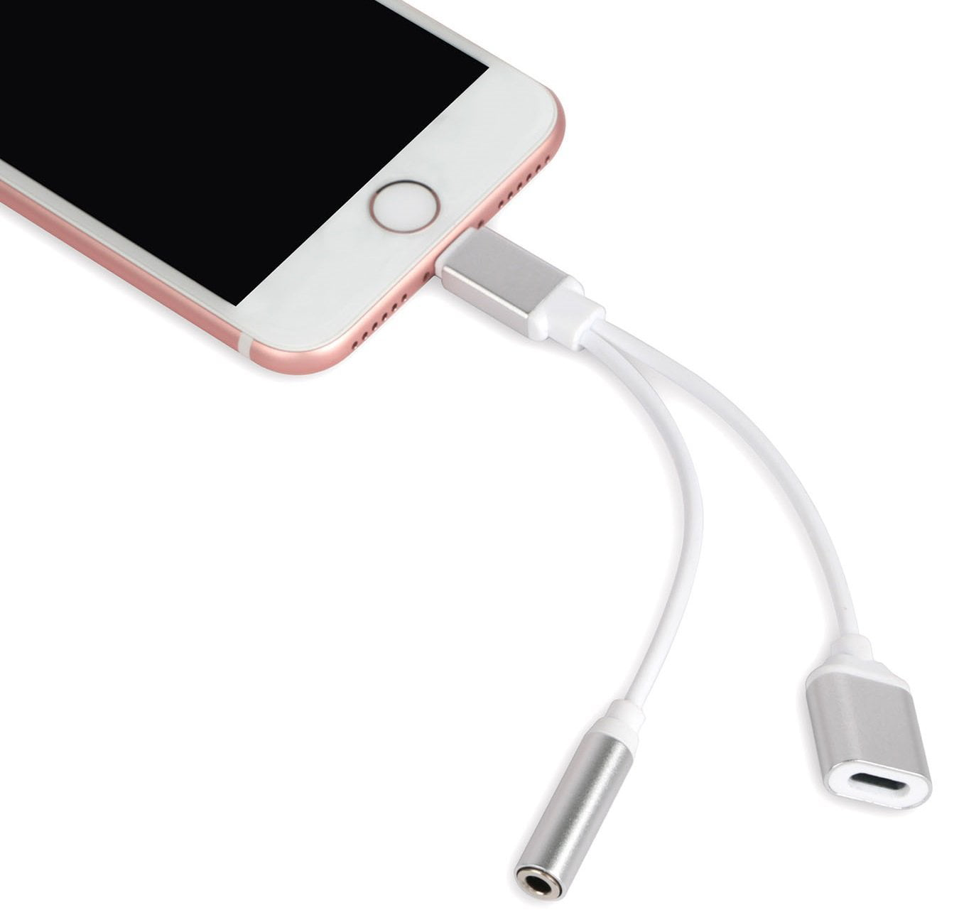 Earbuds iphone 7 connector - iphone 7 dongle headphones adapter