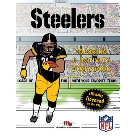 Pittsburgh Steelers Coloring & Activity Storybook - Halloween Toy Story Coloring Pages
