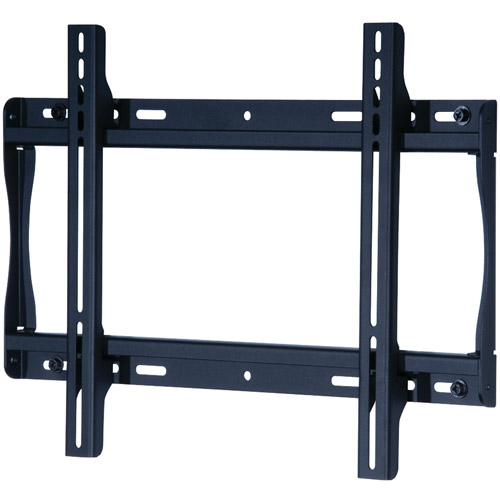 "Peerless SmartMount Universal Flat Wall Mount for 23"" - 46"" TVs, Black"