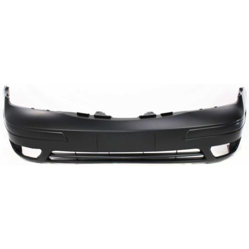 Replacement Top Deal Front Black Bumper Cover For 05-07 Ford Focus 6S4Z17D957DA