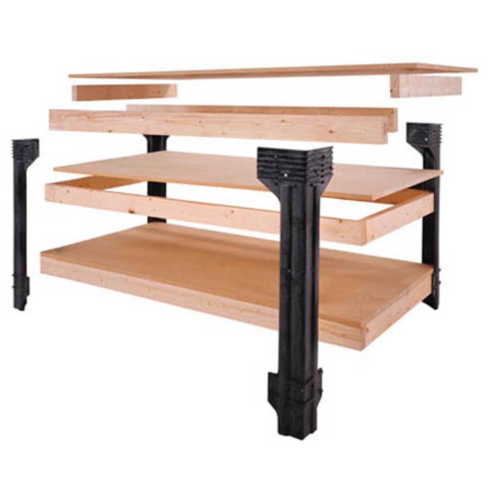 Excellent 2X4Basics Workbench Legs Walmart Com Gmtry Best Dining Table And Chair Ideas Images Gmtryco