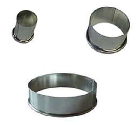 Plain Round Cutter, Heavy Duty Tinned Steel 5-9/16